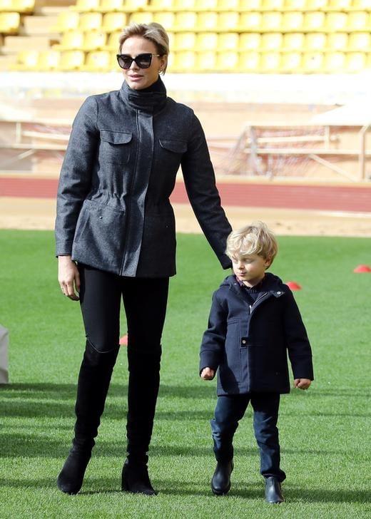 Charlene di Monaco e il Principe Jacques