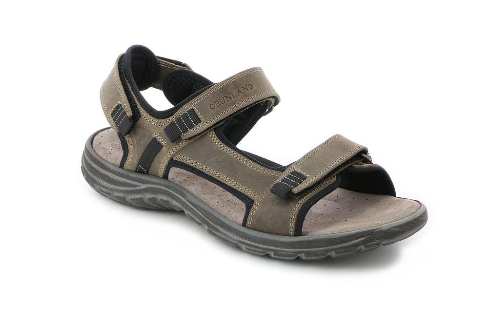 Grünland sandalo comodo outdoor con tomaia pelle - prezzo: 75 euro