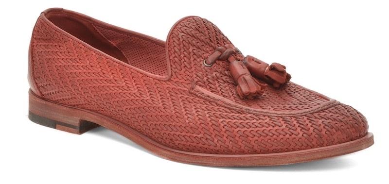 scarpe rosse uomo Fratelli rossetti estate 2018