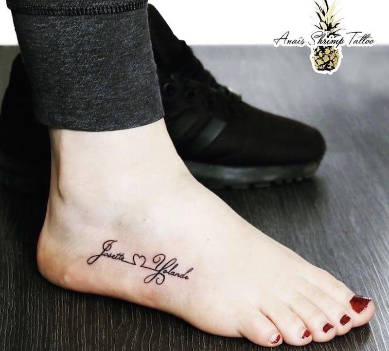 tatuaggi scritte 2018
