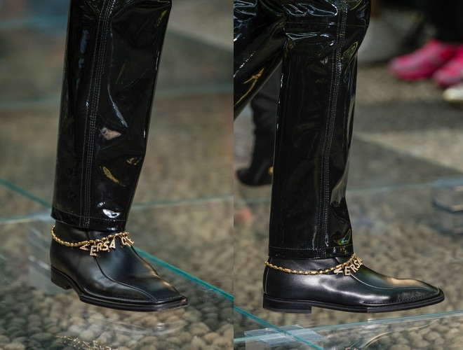 Versace scarpe uomo primavera estate 2019
