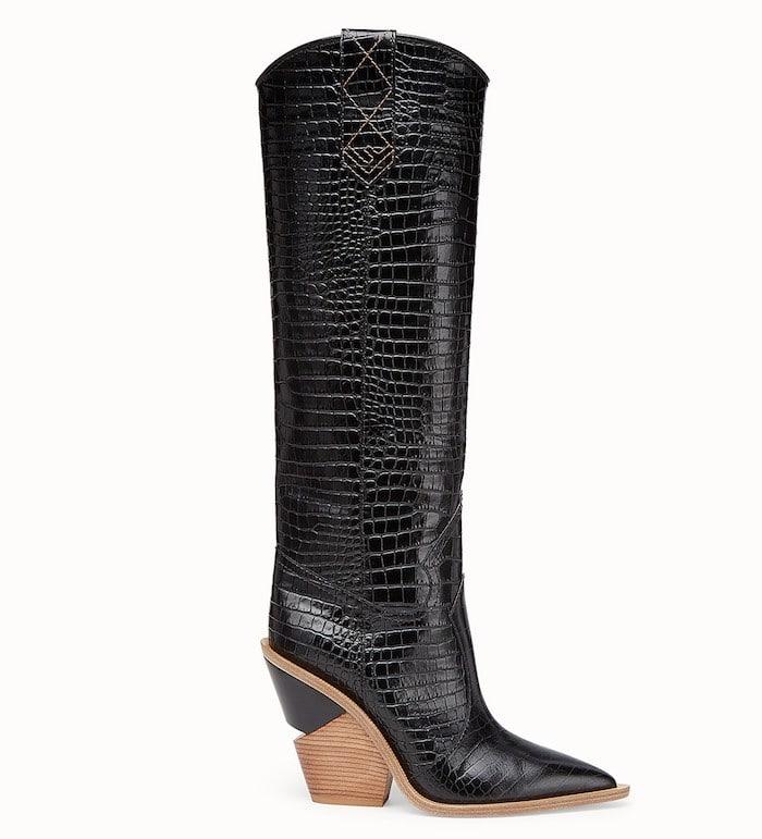 Cowboy boot fendi 2019