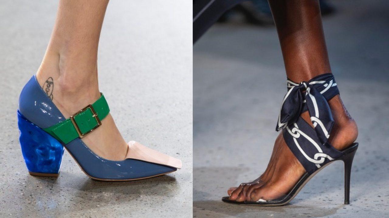 Tendenze scarpe primavera estate 2017 direttamente dal The