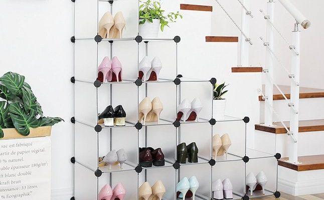 scarpiere salvaspazio