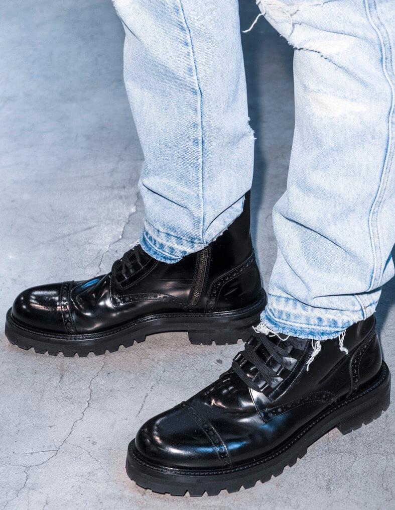 Scarpe Stivali Abbinare Alte Basse Jeans Come E Uomo Guida FYax7Rqtwq