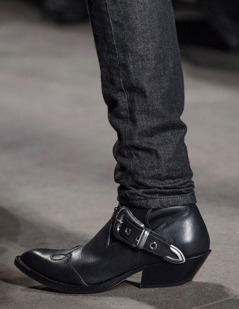 Moda uomo stivaletti jeans abbinamenti