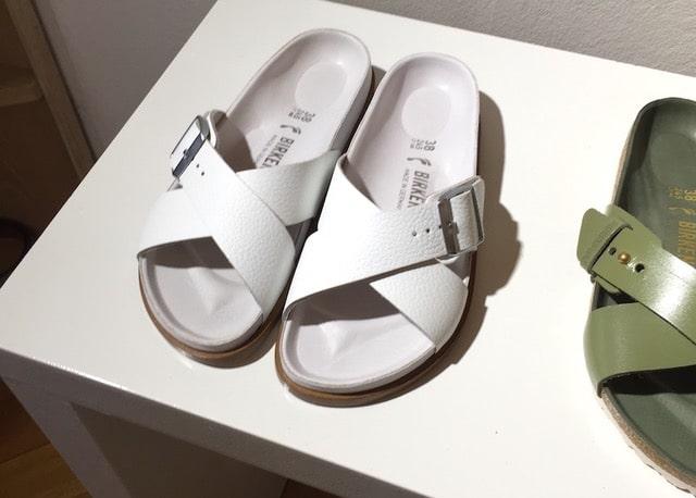 sandali bianchi birkenstock donna primavera estate 2019