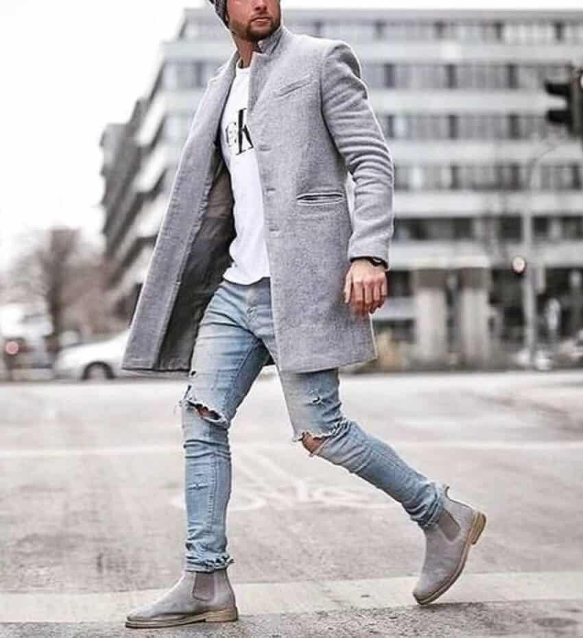 colori armoniosi a poco prezzo scaricare la consegna Come abbinare jeans e stivali. Guida uomo - Scarpe Alte ...