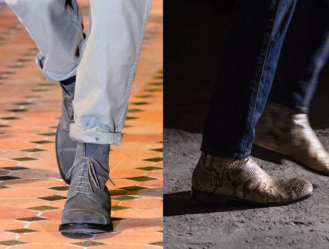 Come abbinare jeans e stivali. Guida uomo Scarpe Alte