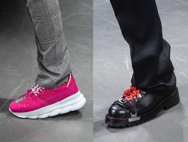 scarpe versace uomo inverno 2019