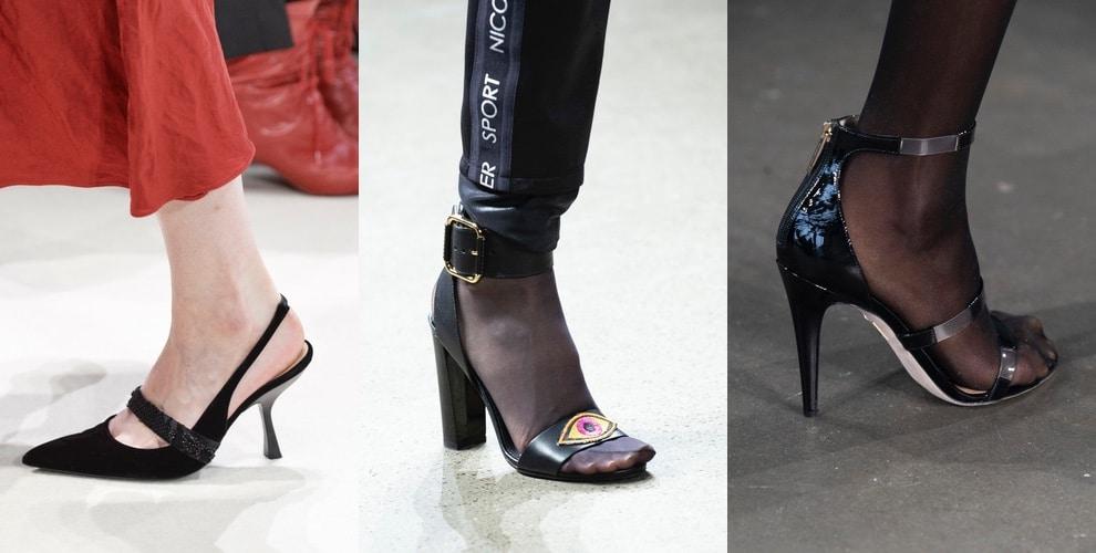 scarpe sfilate new york inverno 2019 2020