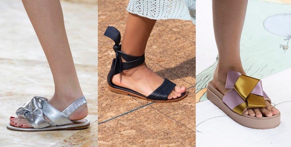 sandali bassi estate 2020