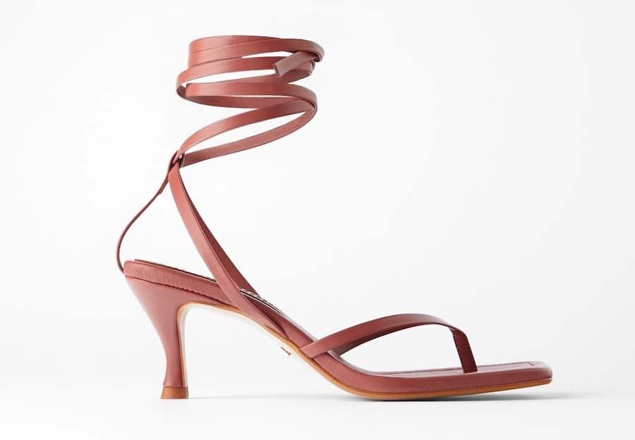 zara donne sandali 2020